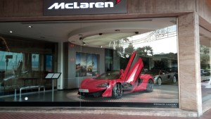 McLaren Car showroom, Monte carlo