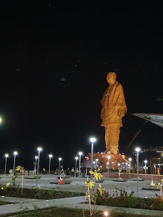 Iron Man of India Statue as Statue of Unity
