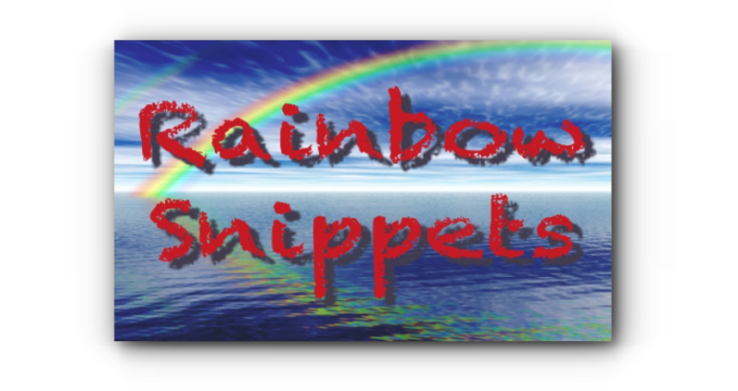 Banner - Rainbow Snippets - Featured Image 680x360
