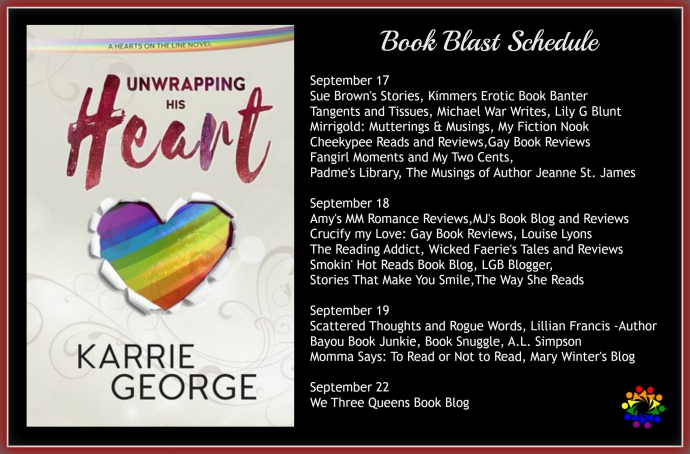 UNWRAPPING HIS HEART SCHEDULE-2
