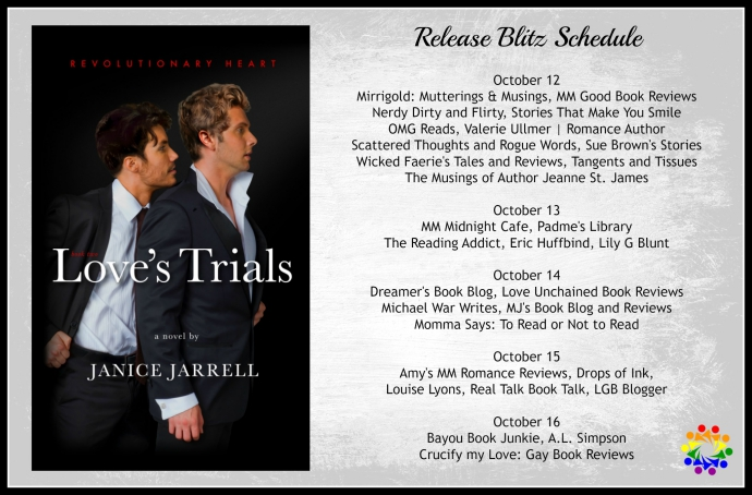 LOVE'S TRIALS SCHEDULE