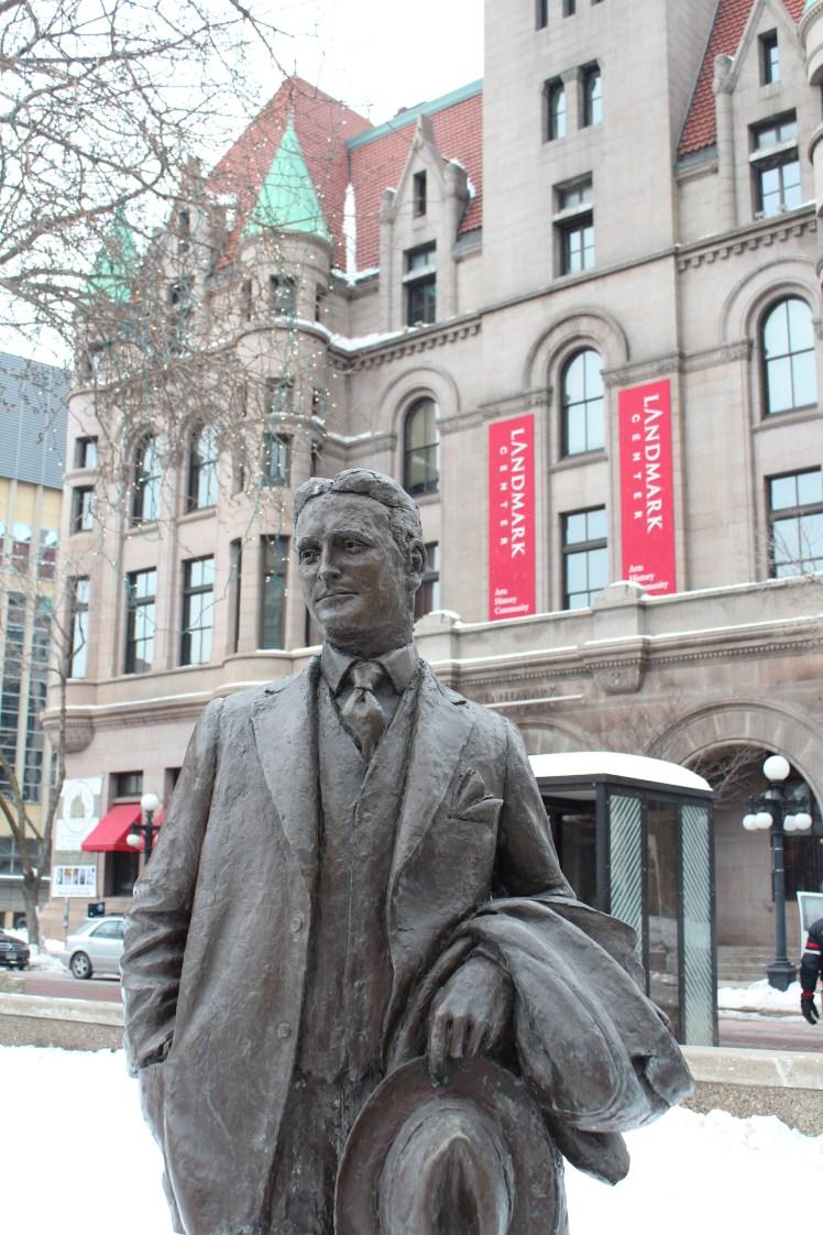 Fitzgerald Statue in Minnesota