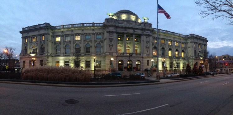 Milwaukee Public Library Panorama
