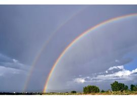 Southern New Mexico double-rainbow © Author Adventures