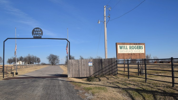 Will Rogers Birthplace Sign