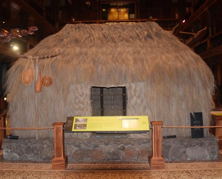 Bishop museum hut