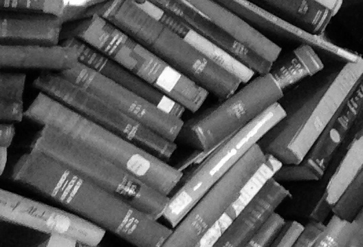 b and w books