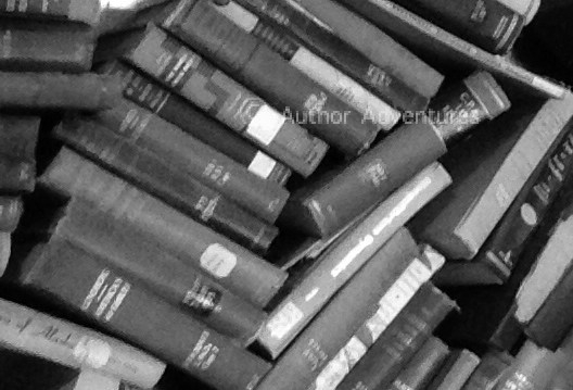 Tattered library books