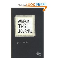 Wreck This Journal - Week 6 - Creative Play & Gratitude (1/3)