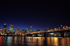 pic 2 portland at night