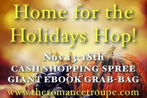 Home for the holidays hop button