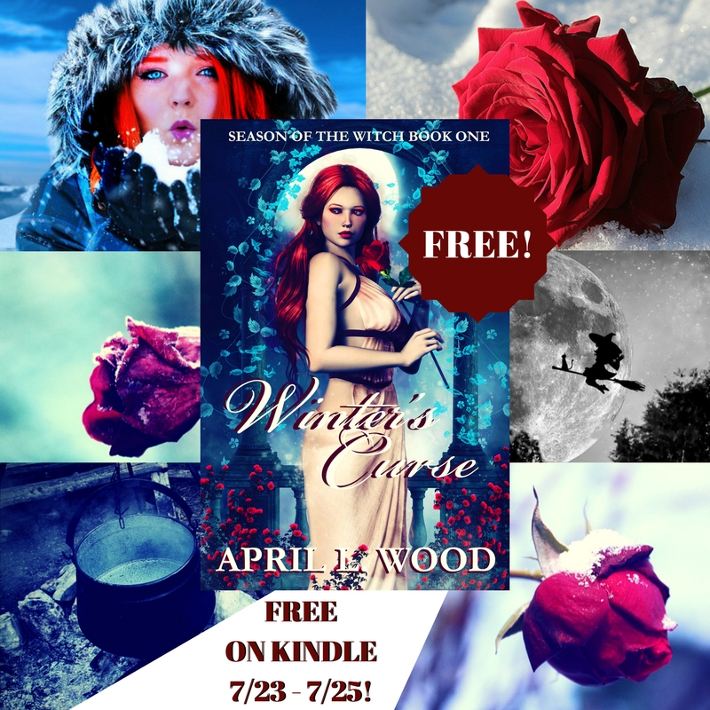 ✨🌹 Winter's Curse, Season of the #Witch Book 1, is #free on #kindle for three days! #freebie #freebookpromo #yalit #fantasy #paranormalromance #bookbuzz #kindle #IARTG