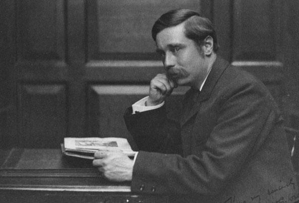 H. G. Wells. c.1890