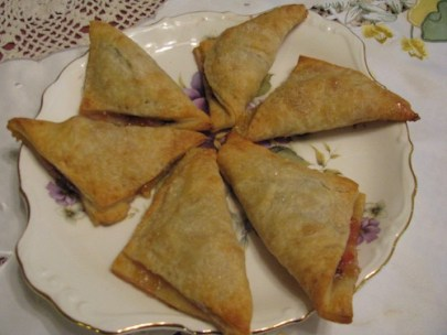 Saving Amelie-Oma's Purple Plum Turnovers