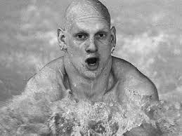British Olympic swimmer Duncan Goodhew