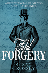 Cover of Fatal Forgery by Susan Grossey