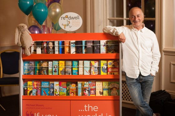 Sir Tony Robinson is the inspiring patron of Read for Good