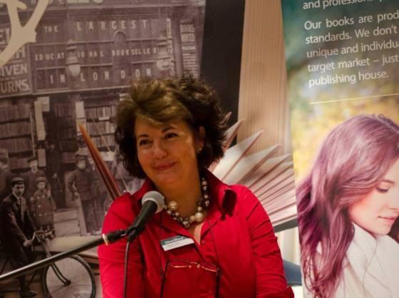 Helen Hart headshot at Open Day
