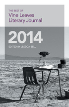 Cover of 2014 anthology book
