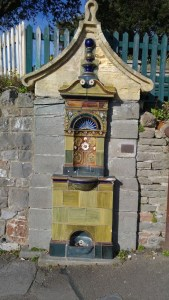photo of ornate Art Nouveau drinking fountain