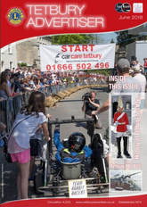 cover of the June issue of the Tetbury Advertiser