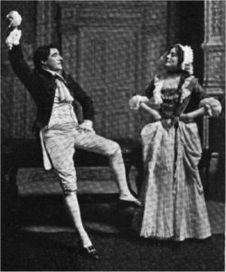 photo of scene from play