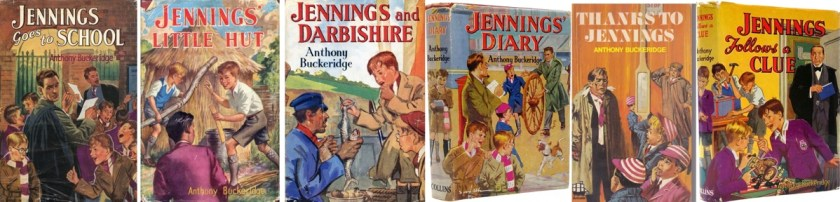 array of Jennings books