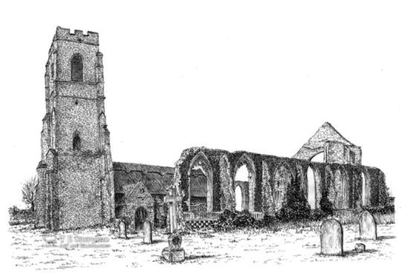 image of St Andrew's Covehithe