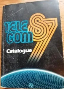 cover of Telecom 87 catalogue