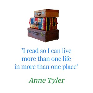 text box with Anne Tyler quote