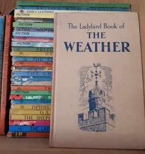 cover of The Ladybird Book of the Weather