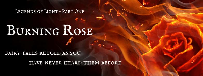 Burning Rose header