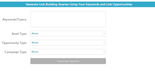 generate queries