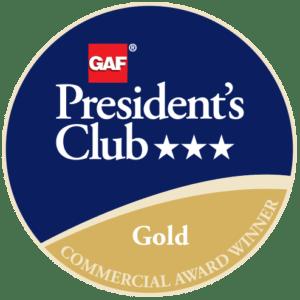 North American Roofing Receives GAF's Prestigious 2018 President's Club Award