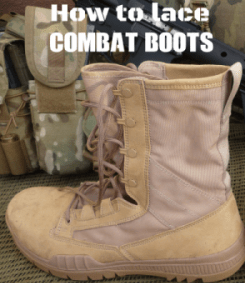 How To Lace Combat Boots Authorized Boots