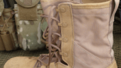 How to lace combat boots