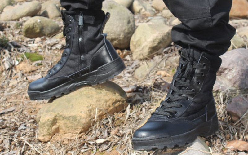 Best Black Shoes For Police Officers Authorized Boots
