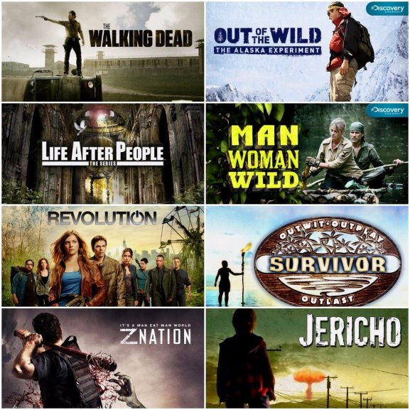 List Of Best Survival Shows On Netflix on Walking Water Experiement
