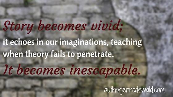 Story becomes vivid;