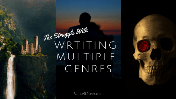 The Struggle with Writing Multiple Genres