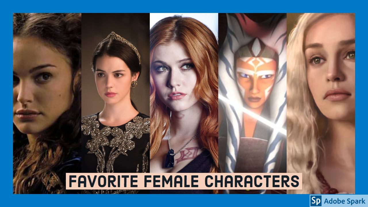 Top Ten Favorite Female Characters
