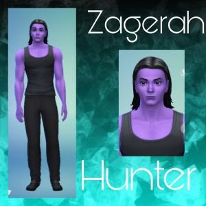 Zagerah's Character Image Print