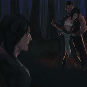 Hunter Painted Scene 5