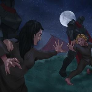 Hunter Painted Scene 1