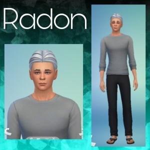 Radon's Character Image Print