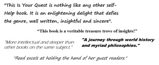 Book Review Quotes for This is Your Quest