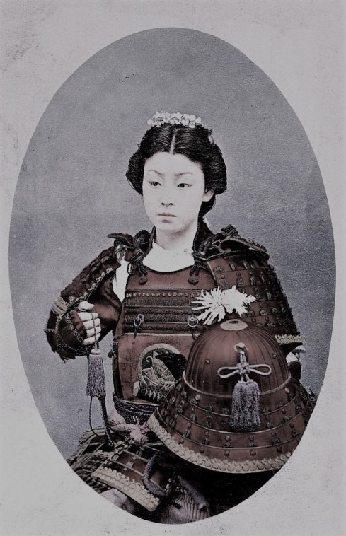 Tomoe Gozen Female Samurai What the world needs