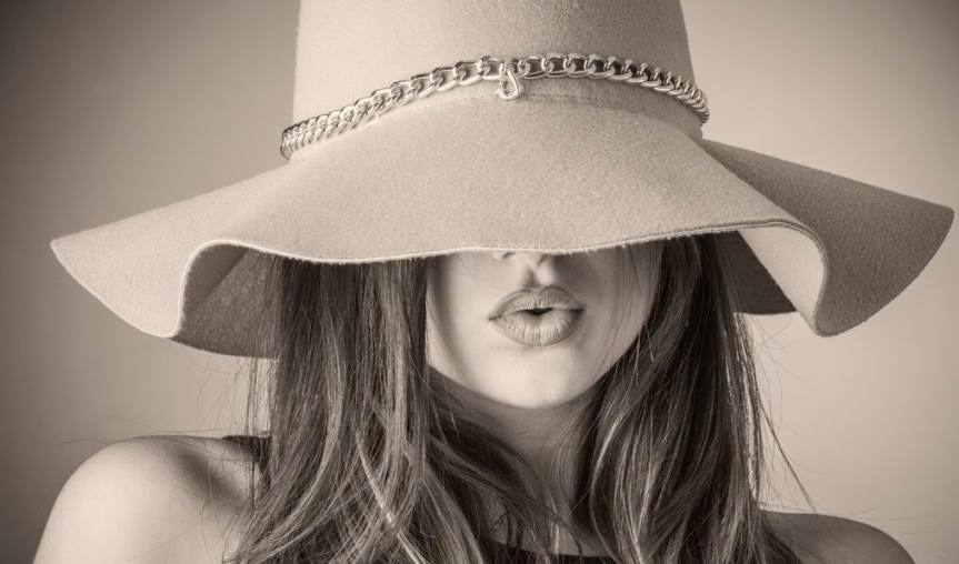 This is Your Quest Author Joanne Reed The art of wearing hats.