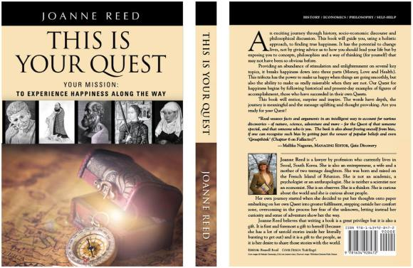 author joanne reed this is your quest