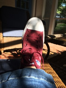 New Converse II. Know anyone that needs a left shoe?